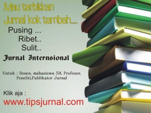 Jasa Penerbitan Jurnal internasional